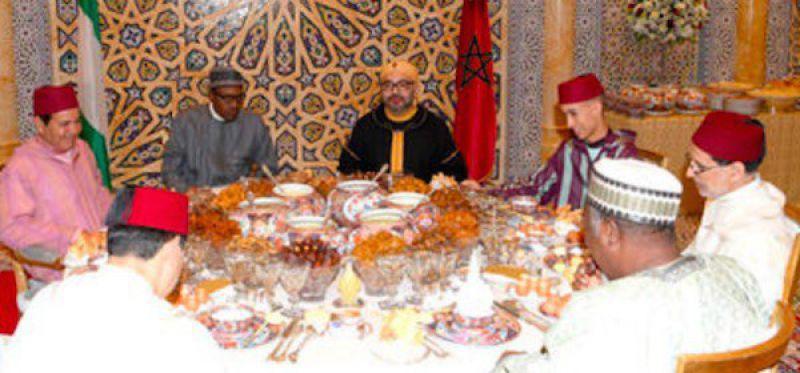 Buka Puasa Bersama Presiden Nigeria