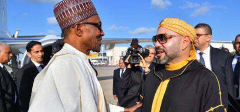 Simbol Persahabatan Maroko-Nigeria