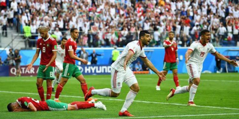 Inilah Misteri Sepakbola, Iran Kalahkan Maroko