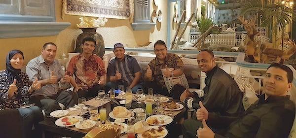 Iftar Sahabat Maroko