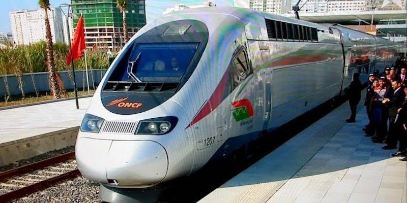 Kereta Cepat Al Boraq Diresmikan Raja Muhammad VI dan Presiden Emmanuel Macron