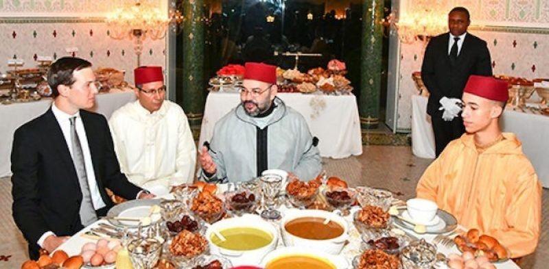 Usai Bahas Kerjasama, Raja Maroko Buka Puasa Bersama Menantu Presiden AS
