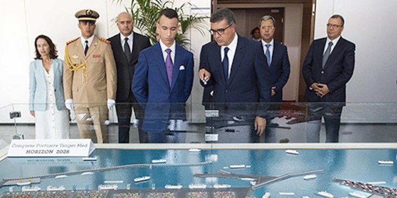 Hubungkan Maroko dengan 77 Negara, Pelabuhan Med II Diresmikan