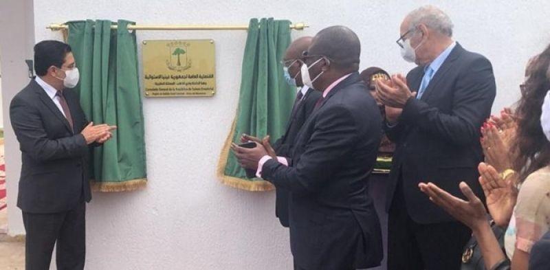 Setelah Guinea Bissau Dan Burkina Fasso, Maroko Resmikan Kantor Konsulat Guinea Ekuatorial Di Dakhla